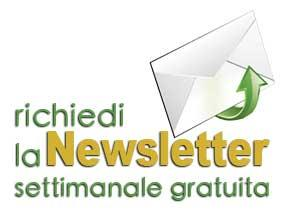 richiedi la newsletter settimanale